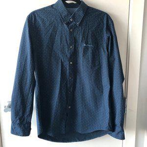 3/$30 ✨Ben Sherman Navy + Blue Button Down Shirt